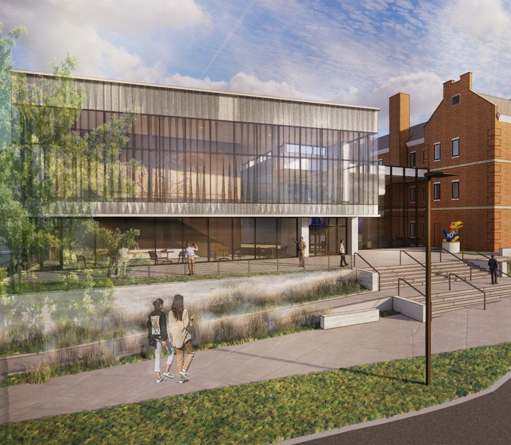 University of Kansas, KU Alumni Association to build Jayhawk Welcome Center