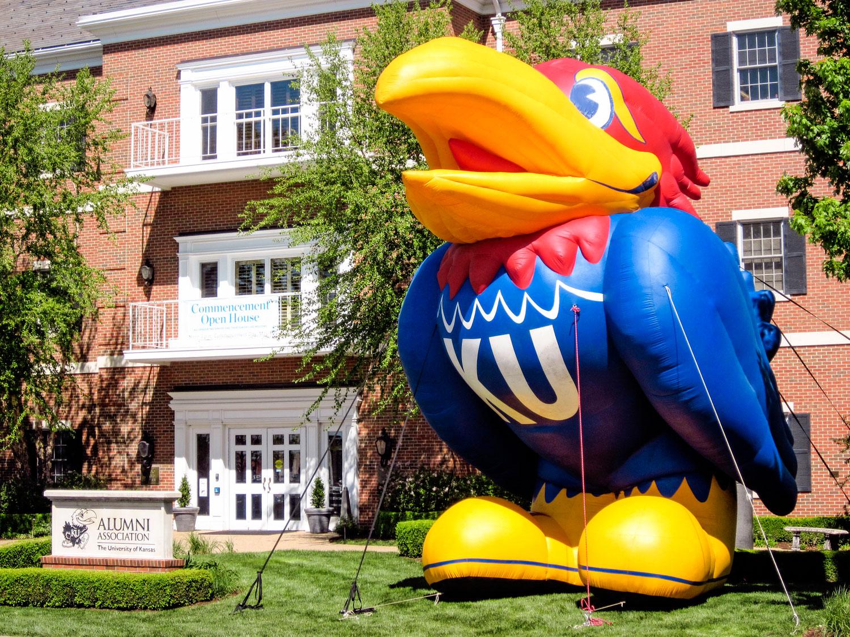 KU Alumni Association | Adams Alumni Center and Super Jay