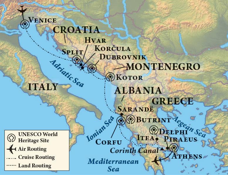 Adriatic & Aegean Odyssey