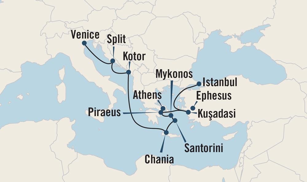 Byzantine Antiquity map