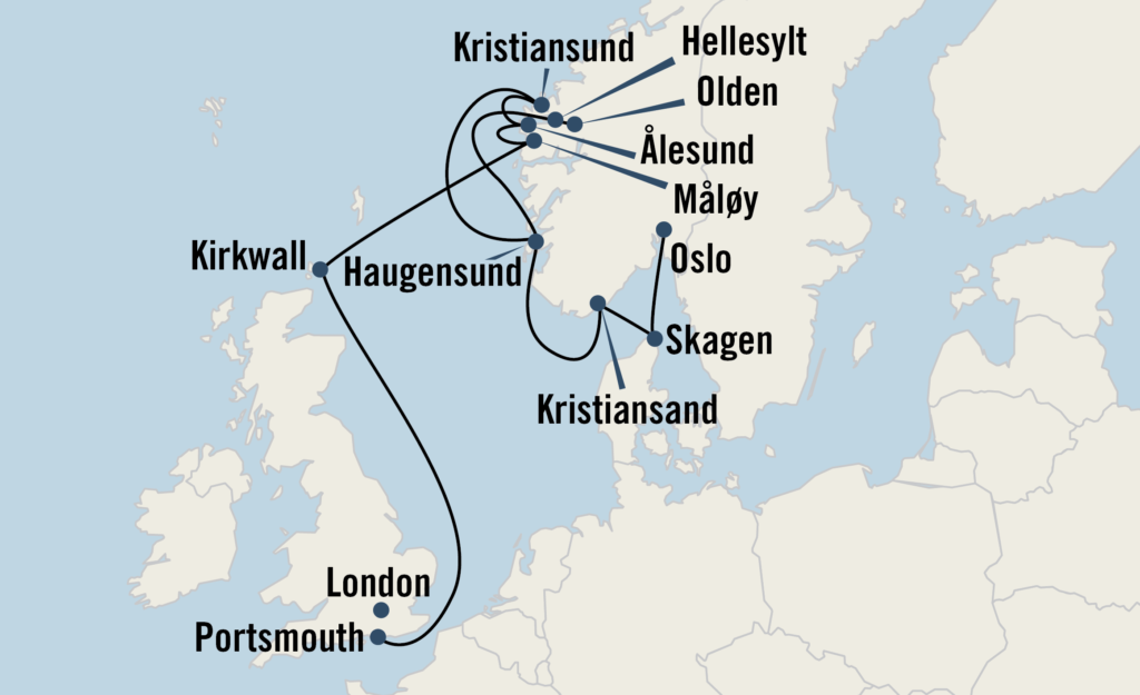 Fjords & Seascapes