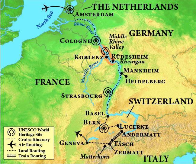 Great Journey through Europe