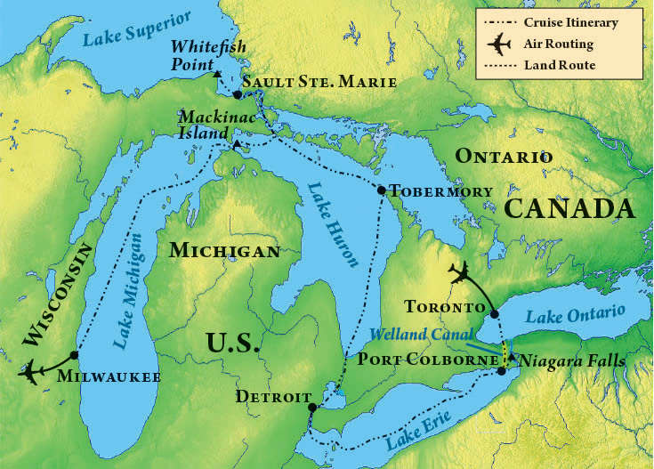 Cruising the Great Lakes