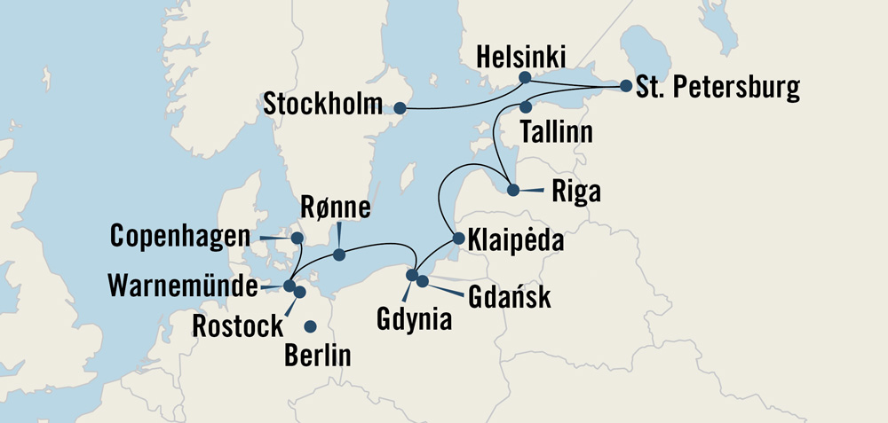 Medieval Montage Baltics & Scandinavia