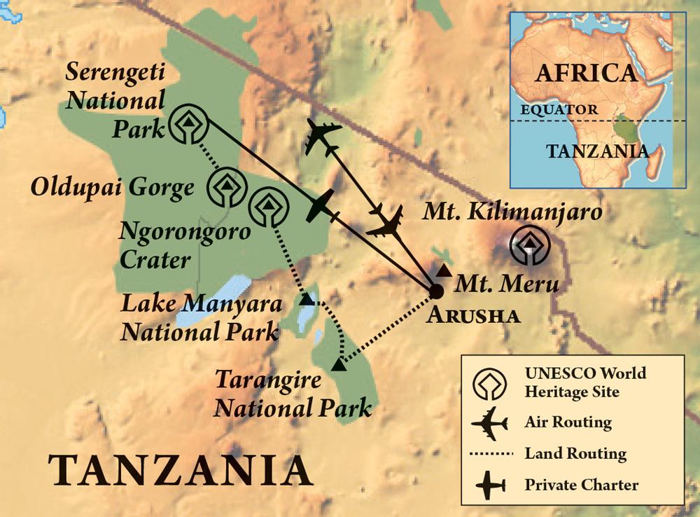Tanzania Safari | Flying Jayhawks