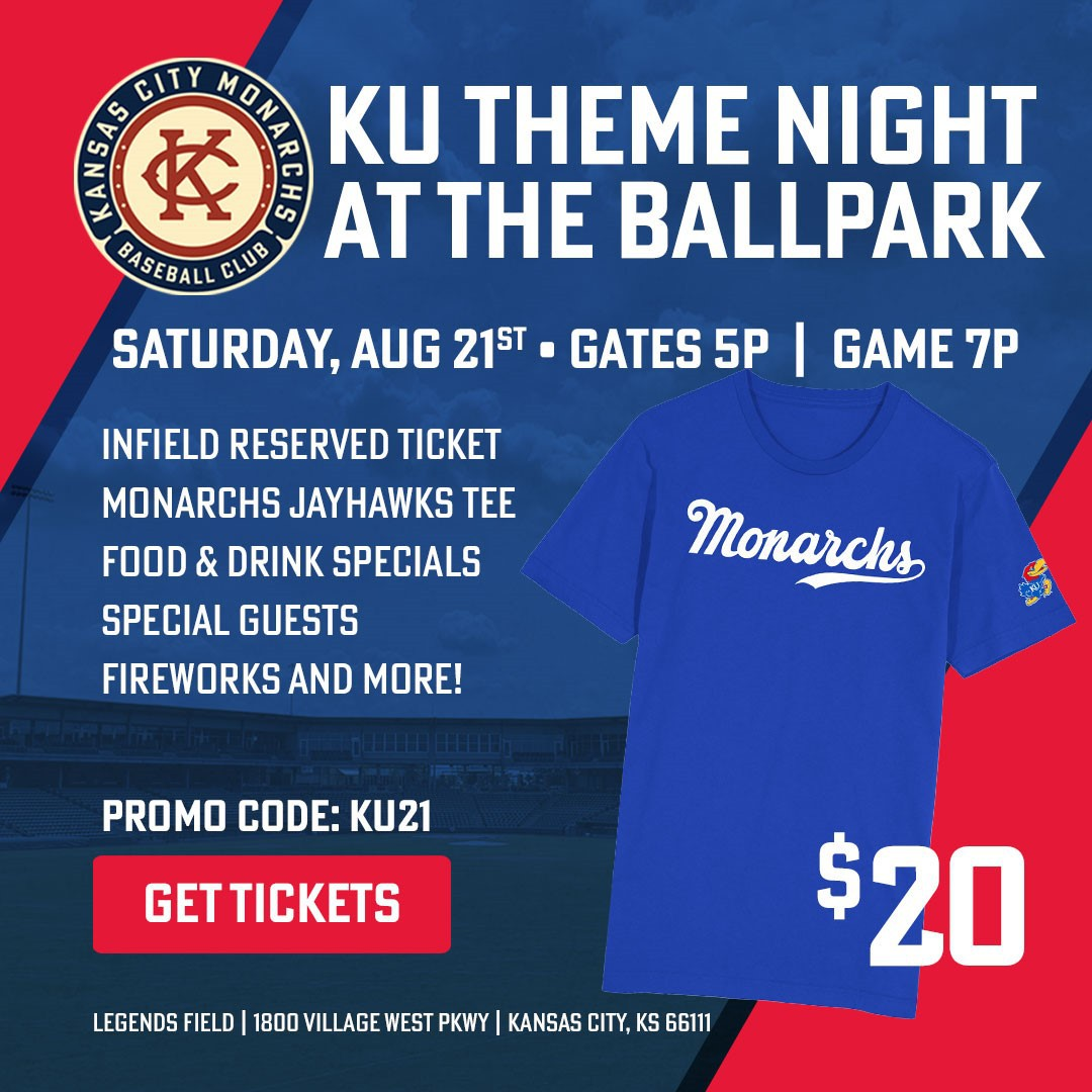 KU Night with the KC Monarches