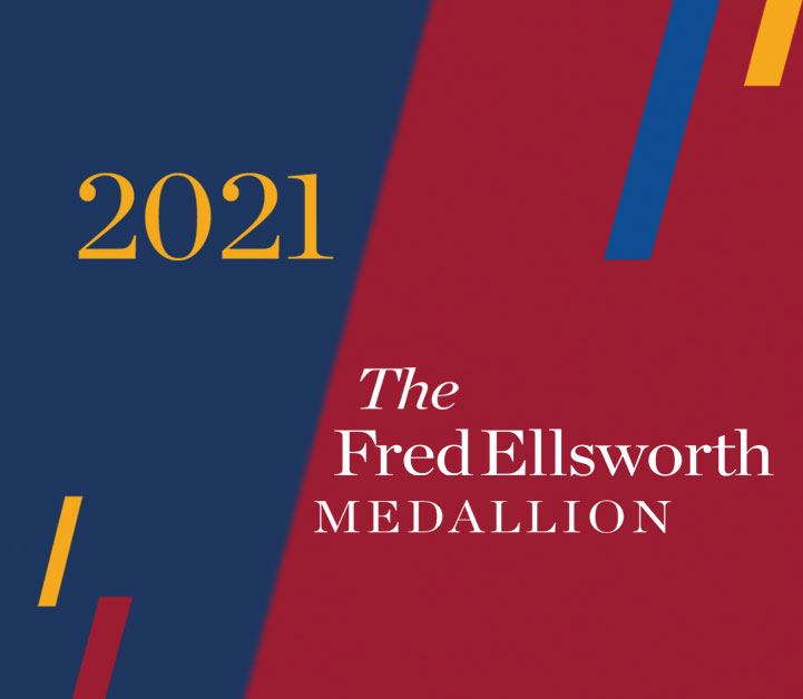 KU Alumni Association honors 3 recipients of Fred Ellsworth Medallion