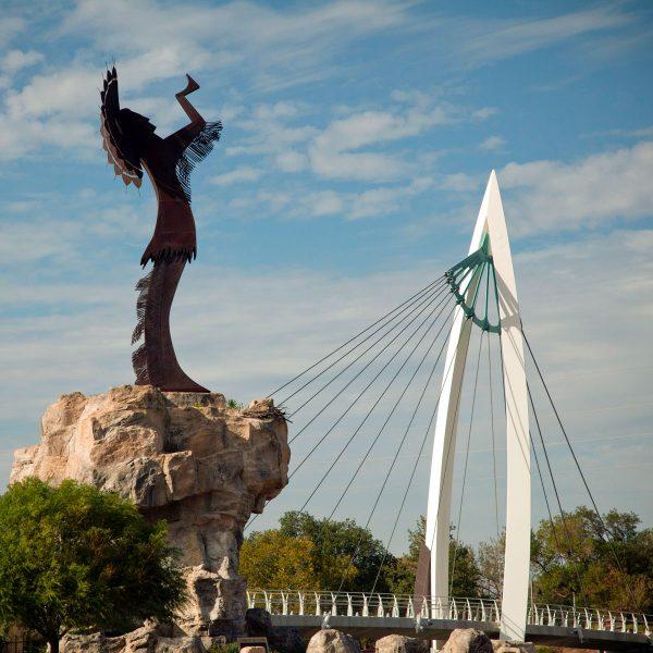 Wichita Jayhawks | City of Wichita skyline